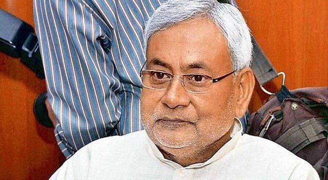 Patna: Nitish Kumar resigns as Bihar Chief Minister on Wednesday. He metGovernor Keshari Nath Tripathi earlier this evening. Details Awaited