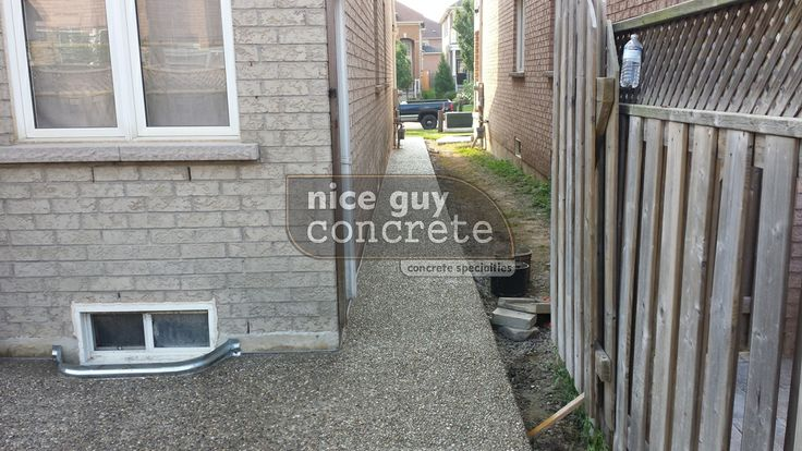 Exposed Aggregate By Nice Guy Concrete  http://www.niceguyconcrete.com  http://www.concretecontractor.ca