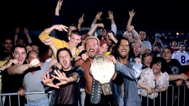 David Arquette, DDP and Chris Kanyon