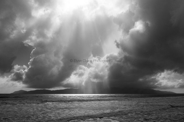 Storm over Kapiti Island | © Elyse Childs Photography