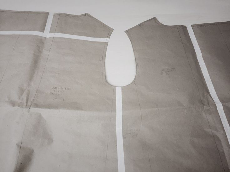 Pattern for a shirt. Sewing by Masha Andrianova