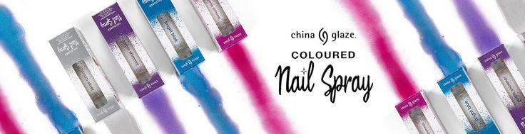 China Glaze Nail Spray banner
