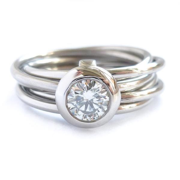 e370f7c59 Platinum Rings - Contemporary, Unique, Bespoke, Modern - Sue Lane ...