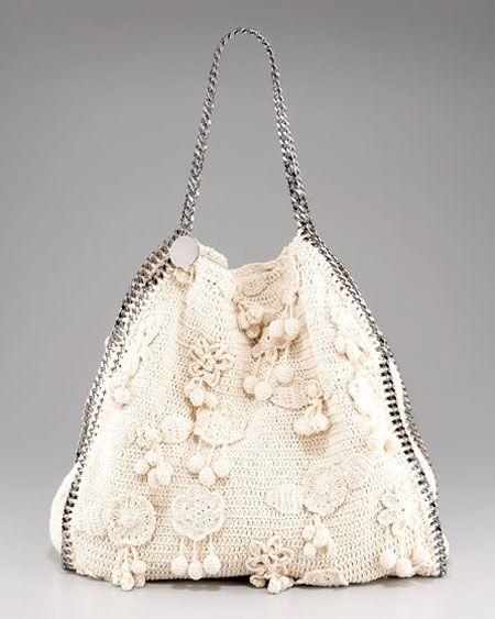 Stella McCartney Crocheted Tote...Fabulous!
