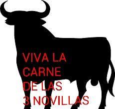 Toro carne de las 3 novillas