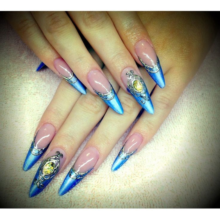 Cinderella Nail Art: 125 Best Images About Nails - Stiletto On Pinterest