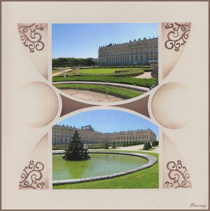Une journée à Versailles - Flopassionscrap