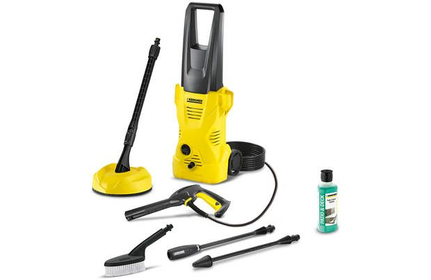 Karcher K2 Home and Brush Pressure Washer – 1400W – Now £74.99 Was £149.99