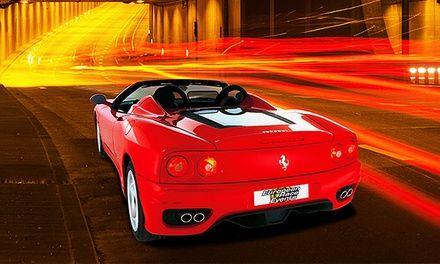30, 60 oder 90 Minuten einen Ferrari F360 Spider selbst fahren ab 99€ www.shopping-fieber.com