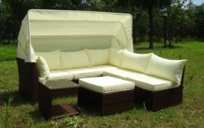 Baidani Rattan Garten Funktions-Lounge Sofa Weekend mit Sonnendach Jetzt bestellen unter: https://moebel.ladendirekt.de/garten/gartenmoebel/loungemoebel-garten/?uid=3c93f44a-2ad6-5b84-9ea8-fa75b63d0696&utm_source=pinterest&utm_medium=pin&utm_campaign=boards #loungemoebelgarten #garten #gartenmoebel