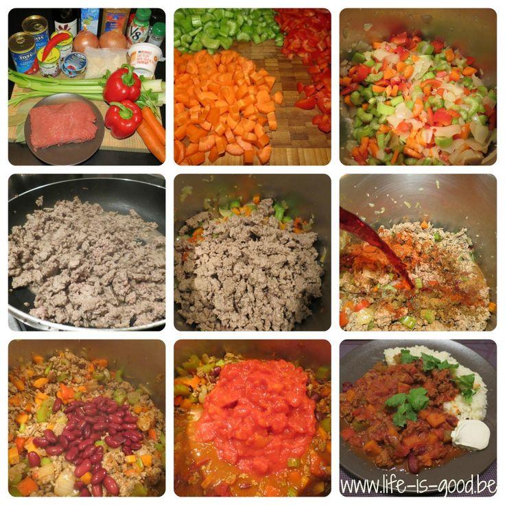 recept chili con carne