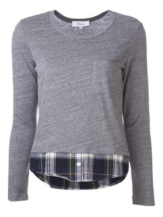 sweater refashion idea / lengthen hem