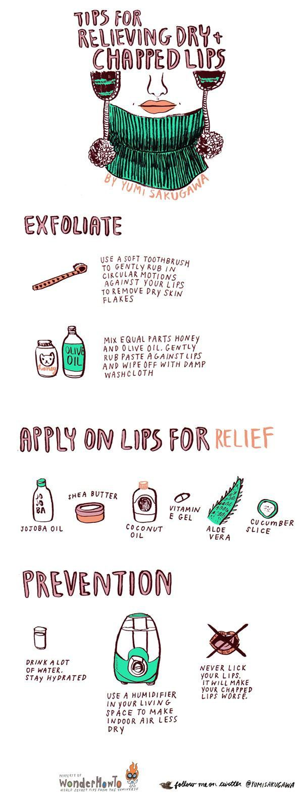15 Tips and Tricks On How To Get Rid Of Dry, Chapped Lips