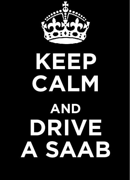 Love my Saab!! :)