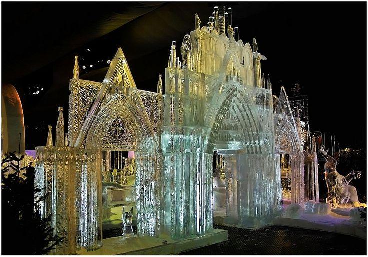 Die Pforte vom Kölner Dom - Bild & Foto von R.Sliwi aus Weihnachtsmärkte it's all made of ice, 5meters high.