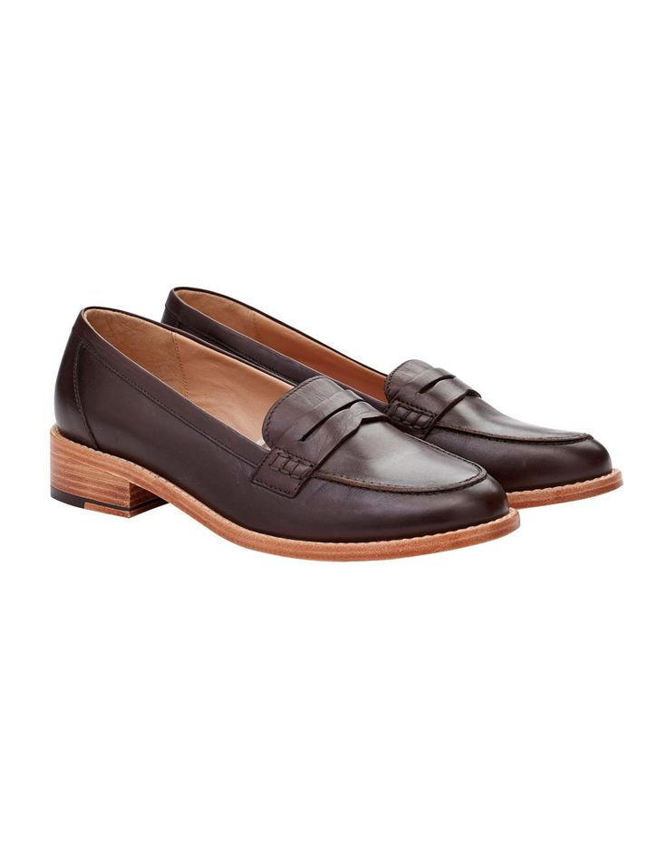 HARGRAVE Womens Leather Loafer