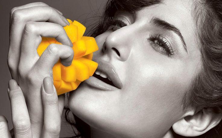 Katrina Kaif Yellow Toy Selective Coloring