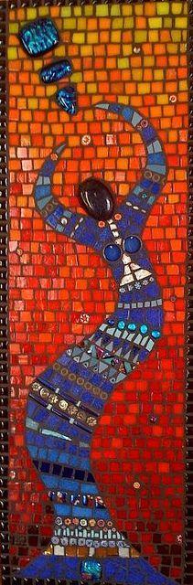 Mosaic woman     #mosaic #art #design