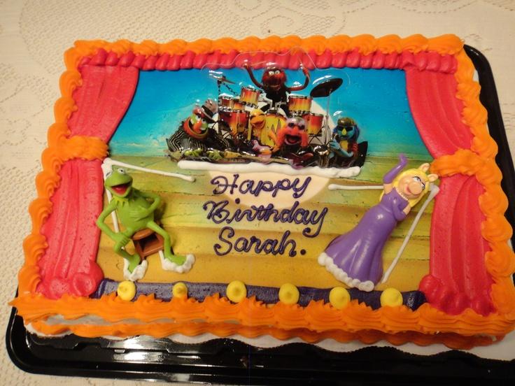 Muppets birthday Cake from Walmart! ) Elmo birthday