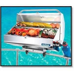 Details about Boat Marine BBQ S.S. Magma Monterey Gas Grill - Lg