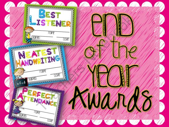 End of the Year Awards Editable from LindsayJervis on TeachersNotebook.com -  (61 pages)  - These bright, NEWLY EDITABLE end of the year awards will show students you care about each of them and notice each of their talents! These awards will mean so much to your students and their parents for years to come!