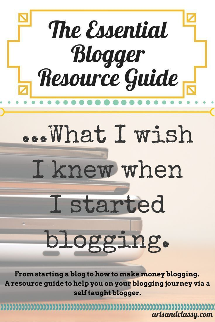 How to Start a Blog - Resource Guide to Launching a Succesful Blog So You Can Work From Home