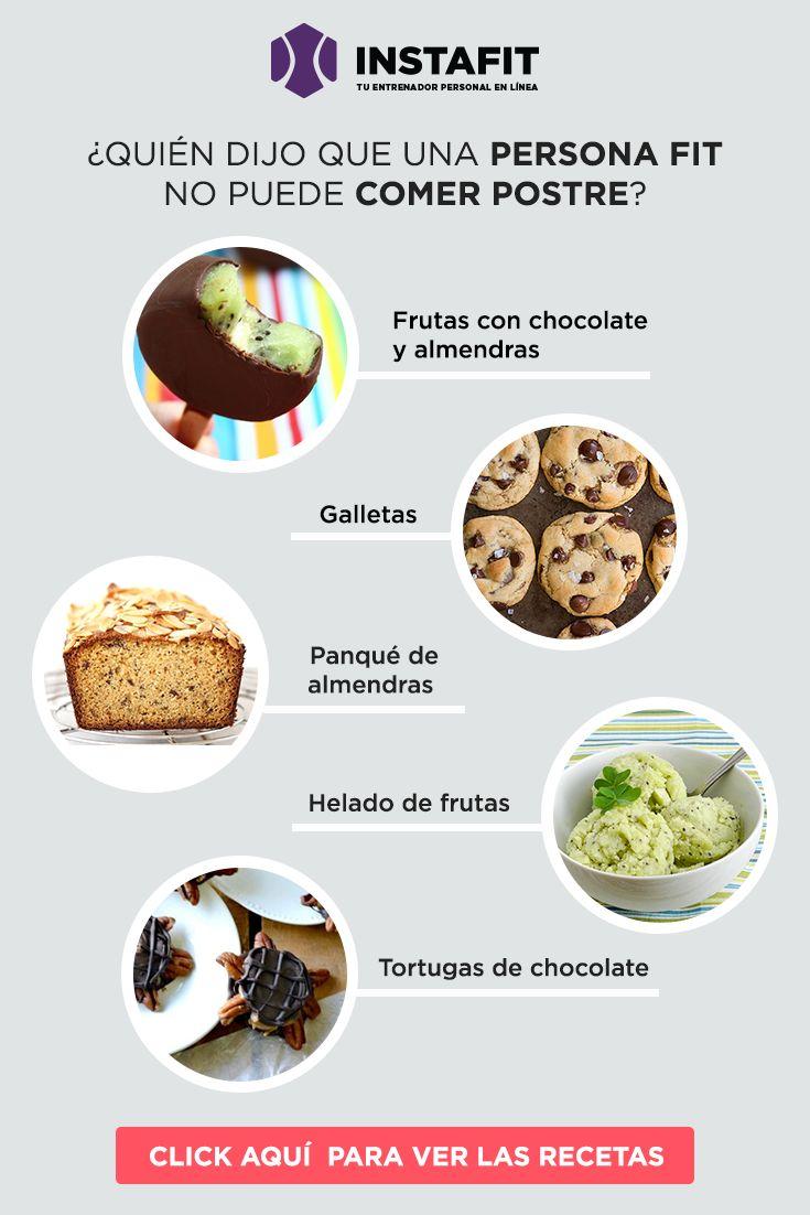 ¿Crees que ningún postre se lleva con tu plan de nutrición? Checa estas recetas deliciosas de postres saludables.
