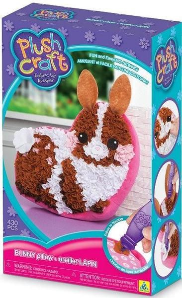 Get crafty with this new Bunny PlushCraft kit!