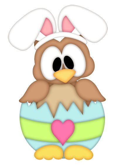 free easter owl clip art - photo #24