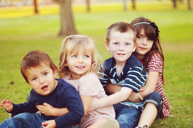 Abish Tatum Photography - four kids  - picture ideas