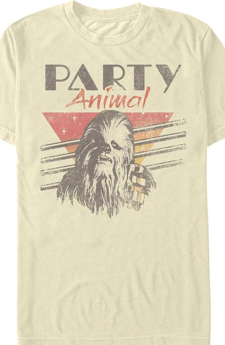 Chewbacca Party Animal T-Shirt