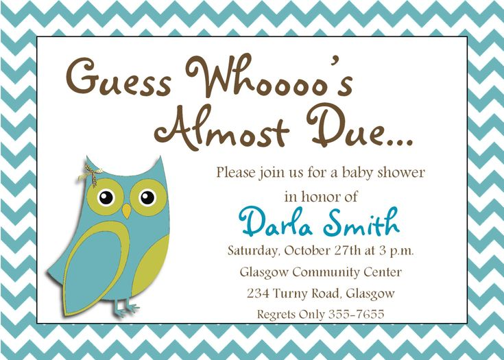 Items Similar To Itu0027s A Boy Printable Owl Baby Shower Invitation On Etsy  Baby Shower Invitation Backgrounds Free