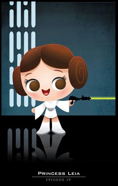 Princesa Leia Dibujos Para Camisetas Pinterest