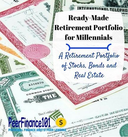 A ready-made retirement stock portfolio for millennials or anyone with decades left to retirement. See the 14 stocks and funds you need in your portfolio.