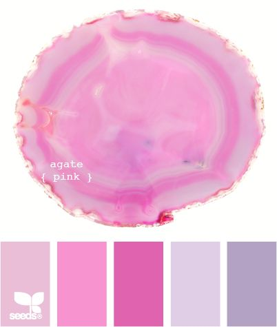 agate pink  Perfect colors for a little girl's room....But I have a teenage Boy!
