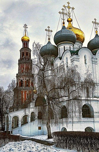 Novodevichy Convent, Moscow, Russia༺ ♠ ŦƶȠ ♠ ༻