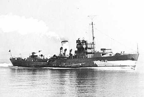 HMCS Woodstock. HMCS Woodstock was a Royal Canadian Navy revised Flower-class corvette that took part in convoy escort duties during the Second World War. She fought primarily in the Battle of the Atlantic.