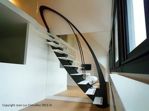 Escalier design profil Mozart lastylique Ref - Domozoom