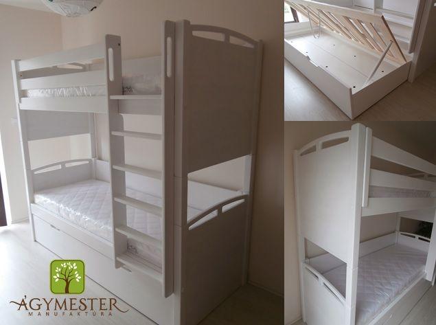 Egyedi emeletes ágy