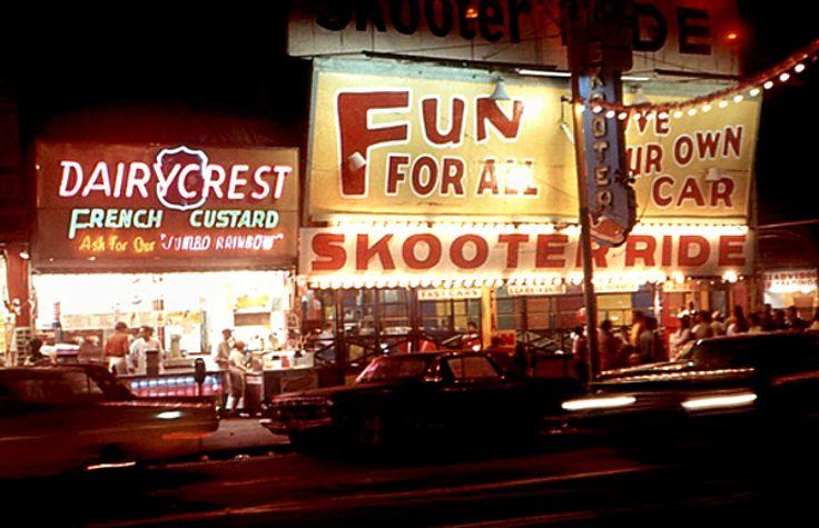 French Custard & Skooter Ride @ Coney IslandConey Island