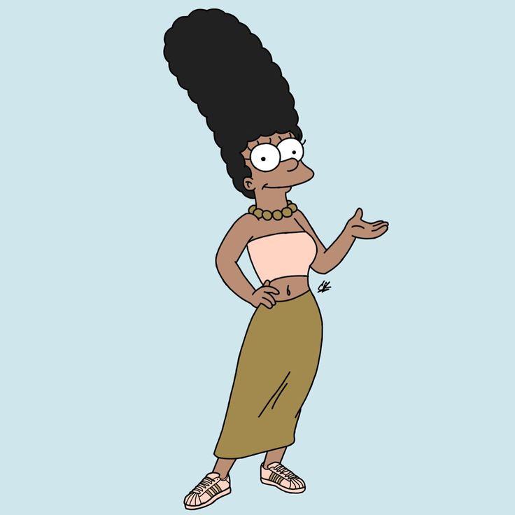 Melanin Marge ️ IG: TheHeartShow SC: Beauty_Jasmine