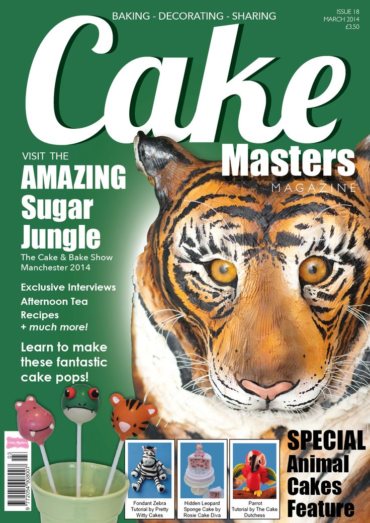 March 2014 Cake Masters Magazine out now!