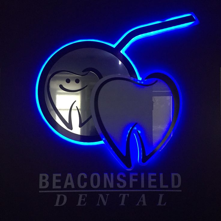 To see Beaconsfield Dental's LED sign, go to Youtube or beaconsfielddental.com.au
