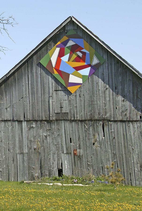 Barn Quilts. They are all over Iowa!