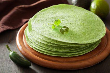 Nature et Vitalité: Tortillas aux épinards : recette au déshydrateur
