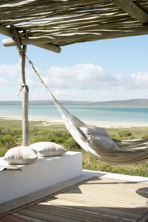 South Africa: a hammock with a view