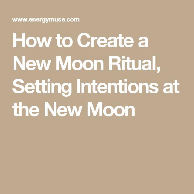 how to create a ritual