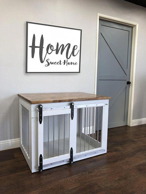Dog Crate Ideas Indoor Dogcrateideasindoor Diy Dog Crate Dog Crate Furniture Custom Dog Houses