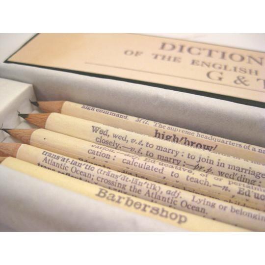 Custom Wedding Pencils By Six0six Design Hatch Co