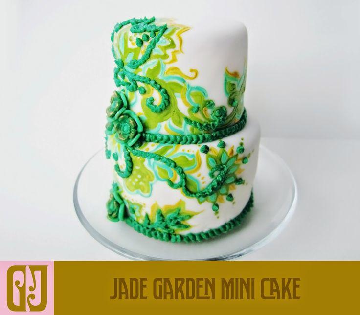 Jade Garden Mini Cake